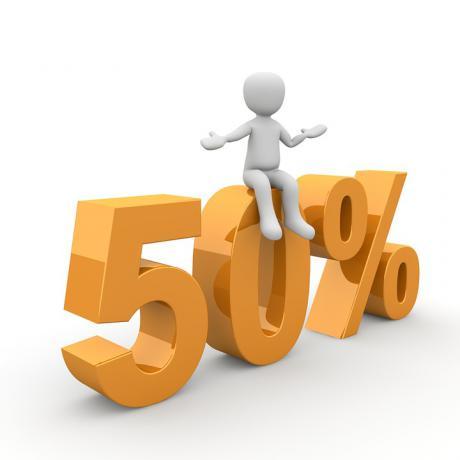 50% скидка для именинников!